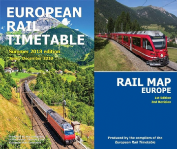 Summer 2018 and <br> Rail Map Europe BUNDLE </br>